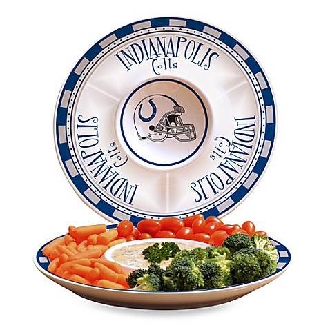 NFL Indianapolis Colts Game Day Chip and Dip Server