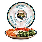 Jacksonville Jaguars Gameday Ceramic Chip and Dip Server