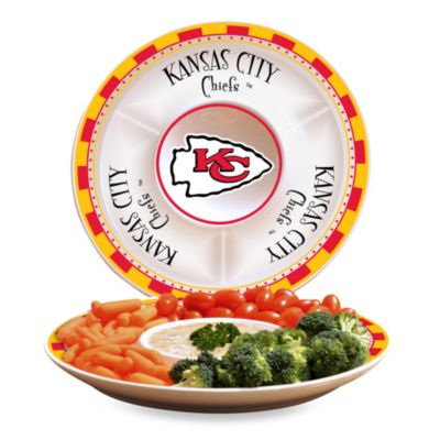 NFL Kansas City Chiefs Game Day Chip and Dip Server
