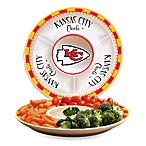 Kansas City Chiefs Gameday Ceramic Chip and Dip Server