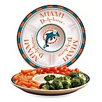Miami Dolphins Gameday Ceramic Chip and Dip Server