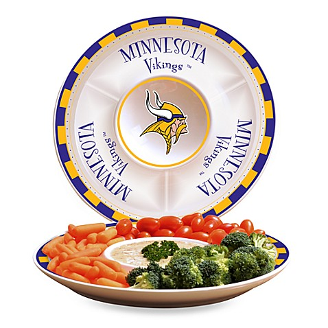 NFL Minnesota Vikings Game Day Chip and Dip Server