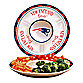 New England Patriots Gameday Ceramic Chip and Dip Server