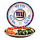 New York Giants Gameday Ceramic Chip and Dip Server