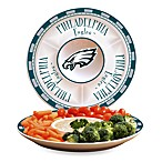 Philadelphia Eagles Gameday Ceramic Chip and Dip Server