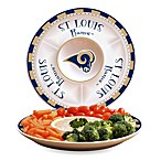 St. Louis Rams Gameday Ceramic Chip and Dip Server
