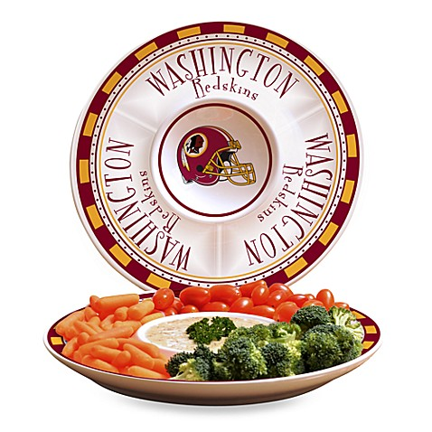 NFL Washington Redskins Game Day Chip and Dip Server
