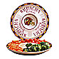 Washington Redskins Gameday Ceramic Chip and Dip Server