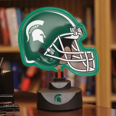 Michigan State Neon Helmet Light