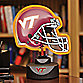 Virginia Tech Neon Helmet Light