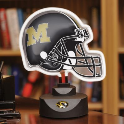 University of Missouri Neon Helmet Light
