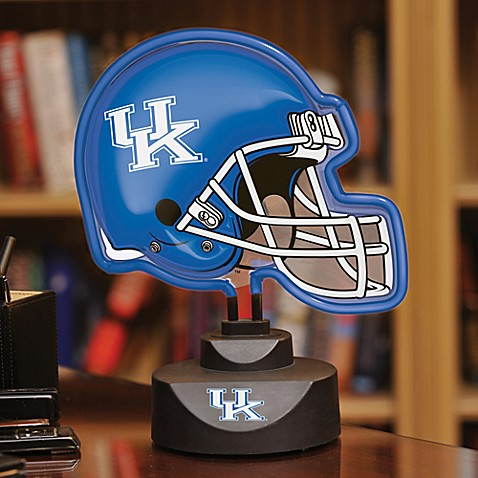University of Kentucky Neon Helmet Light