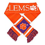 Clemson University Team Stripe Scarf