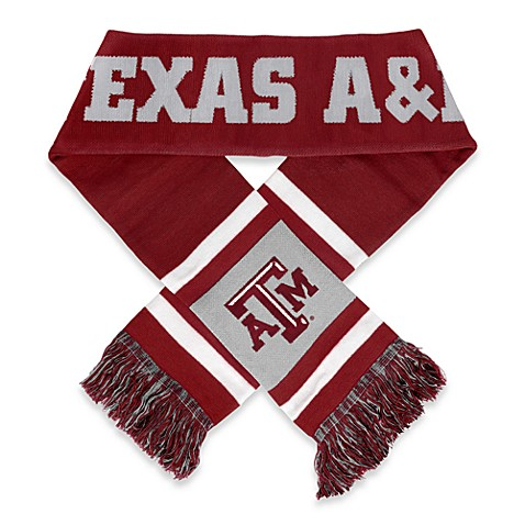 Texas A & M Team Stripe Scarf