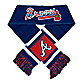 MLB Atlanta Braves Team Scarf
