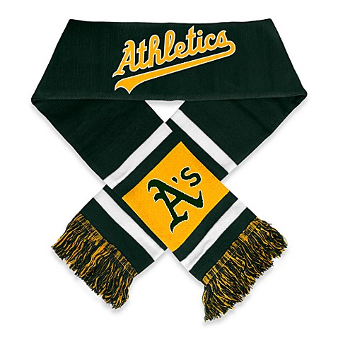 MLB Oakland Athletics Team Scarf