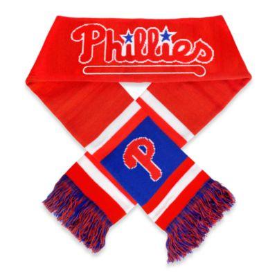 MLB Philadelphia Phillies Team Scarf