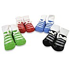 AD Sutton Sneaker 4-Pack Size 0 to 6 Months Sock Gift Set