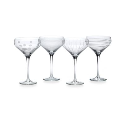 Mikasa® Cheers 13-1/2 oz. Champagne Saucers (Set of 4)