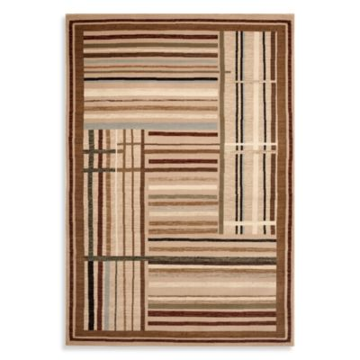 Beige/Multi Area Rugs