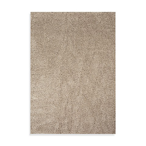 World Rug Gallery Gorilla Shag Linen Area Rug