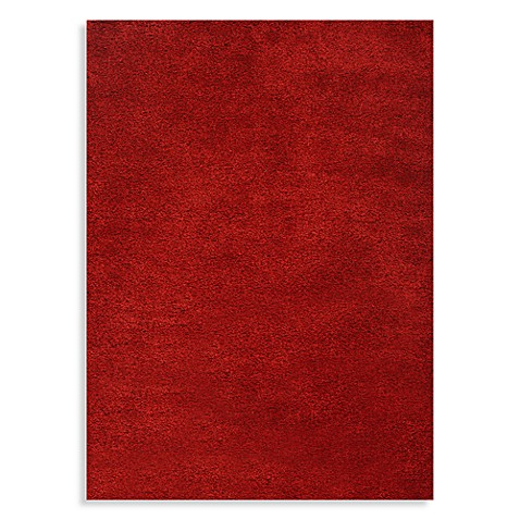 World Rug Gallery Gorilla Shag Red Area Rugs