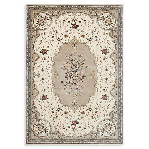 World Rug Gallery Boutique Savonnerie Cream Area Rugs