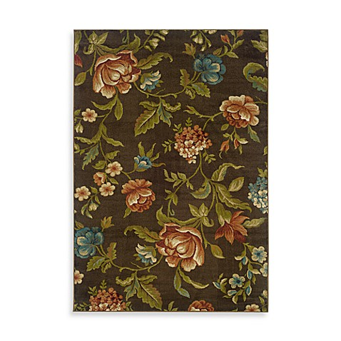 Sphinx By Oriental Weavers Emerson Scattered Floral Rug - 5-Foot x 7-Foot