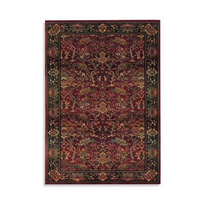 Oriental Weavers Kharma Red 4-Foot x 5-Foot 9-Inch Area Rug