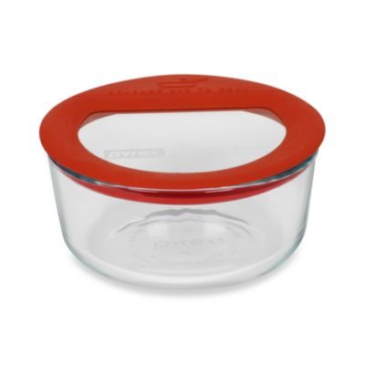 Pyrex® No Leak™ 2-Cup Storage Glass Container