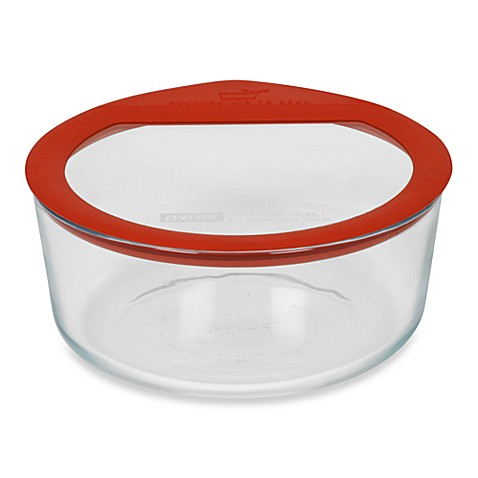 Pyrex® No Leak™ 7-Cup Storage Glass Container