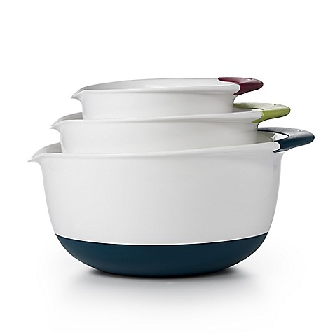 OXO Good Grips® 3-Piece Mixing Bowl Set - BedBathandBeyond.com