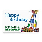 Happy Birthday Party Hat Gift Cards