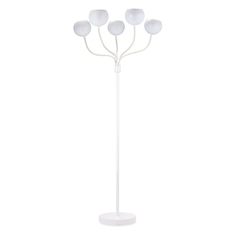 Zuo® Accents Luminosity Floor Lamp in White