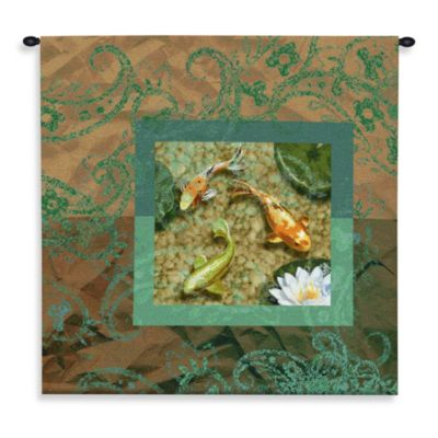Pure Country Flirtation 53-Inch x 53-Inch Fish Tapestry