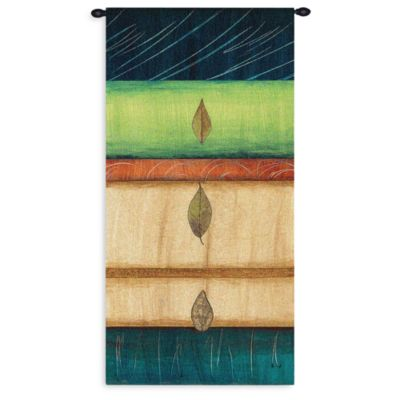 Pure Country Springing Leaves 26-Inch x 51-Inch Tapestry