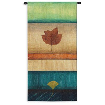 Pure Country Springing Leaves II 26-Inch x 51-Inch Tapestry