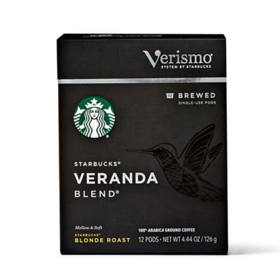 Starbucks® Verismo™ 12-Count Veranda Blend Brewed Coffee Pods