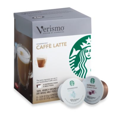 Starbucks® Verismo™ 16-Count Caffe Latte Pods