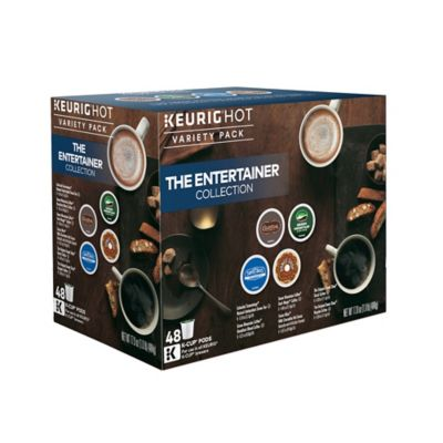 Keurig® The Entertainer 48-Count K-Cup® Variety Box
