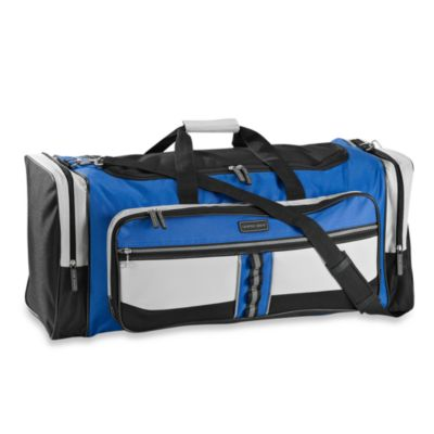 Geoffrey Beene Deluxe 30-Inch Blue Travel Duffle