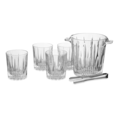 Oleg Cassini Starion Crystal 6-Piece Bar Set