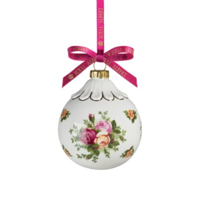 Royal Albert Old Country Roses Bauble Ornament