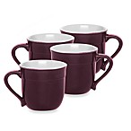 Emile Henry Figue 4-Piece Plum Mug Set