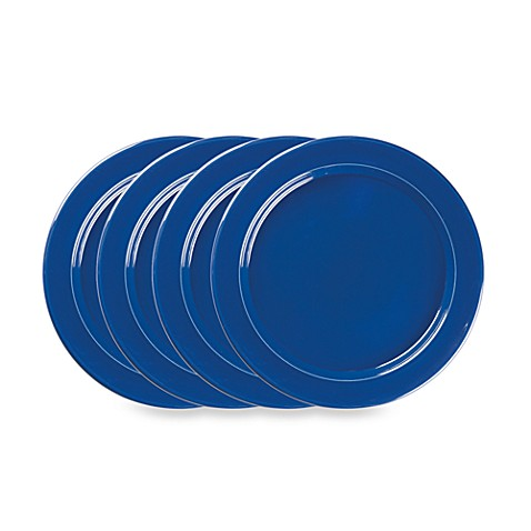Emile Henry 4-Piece Plate Set in Azur