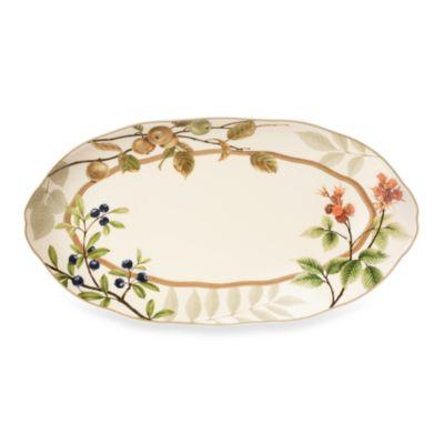 Noritake® Berries & Brambles 15-Inch Oval Platter