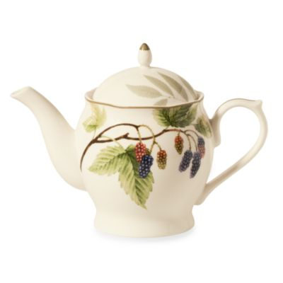 Noritake® Berries & Brambles 33-Ounce Tea Pot