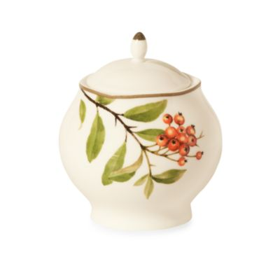 Noritake® Berries & Brambles 12-Ounce Sugar Bowl with Lid