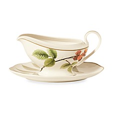 Noritake® Berries & Brambles 12 1/4-Ounce Gravy Boat with Saucer