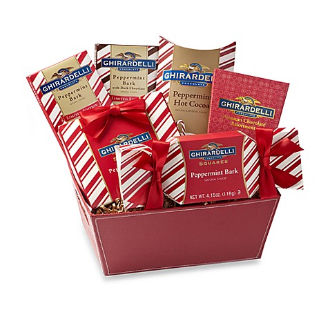 Ghiradelli® Peppermint Pleasures Gift Basket